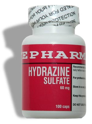 Hydrazine Sulfate 60mg 100cp - Lifepharma Online Store